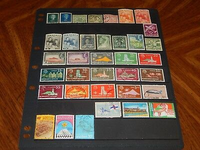 Netherlands Antilles / Curacao stamps - 36 mint hinged & used early stamps !!