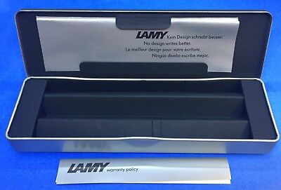Vintage Lamy Fountain Pen Box w/ Original Warranty Papers- BOX ONLY