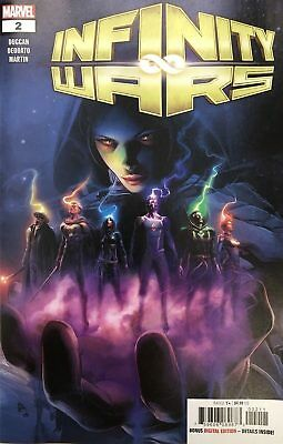 Infinity Wars #2 1:10 Unmasked Variant Cover BRAND NEW - MINT Unread Copy