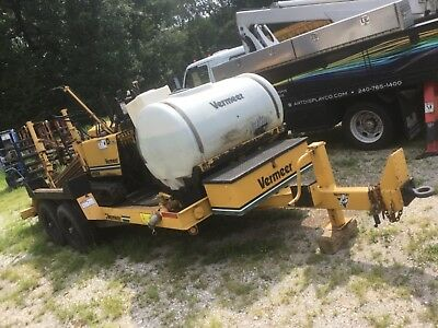 Vermeer 7x11A with Trailer and water tank