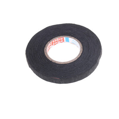 Heat-resistant 19mmx15m Adhesive Fabric Cloth Tape Car Cable Harness Wiring XXJ