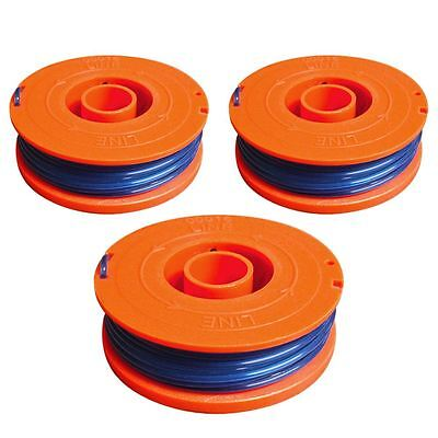 3 x Spool And Line Cord Fits Flymo Multi Trim 200 250 300 Strimmer Trimmer
