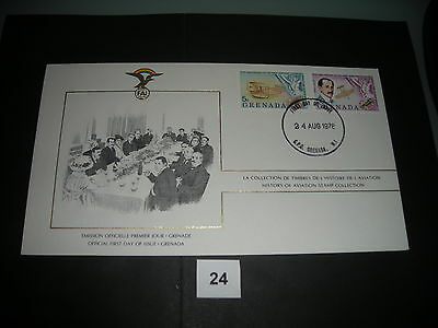 FDC,First,Day,of,Issue,GRENADA,Grenada,Flugzeug,Aircraft(24)