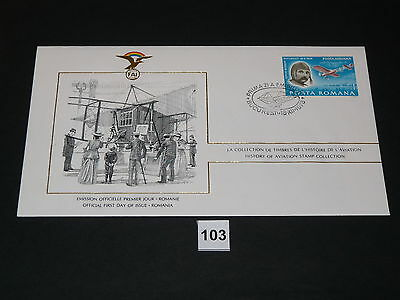 FDC,First,Day,of,Issue,POSTA ROMANA, Rumänien ,Flugzeug,Aircraft(103)