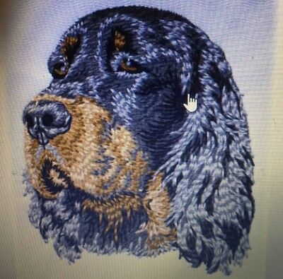 Gordon Setter, Hand Towel, Embroidered, Custom, Personalized, Dog