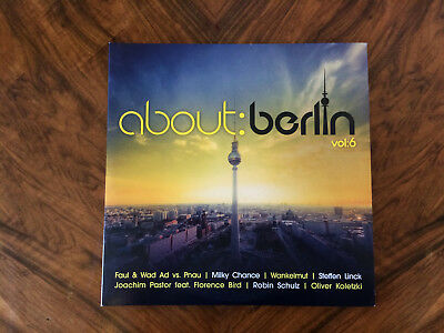 about:berlin Vol. 6 - 4x LP Set - About Berlin - Limited