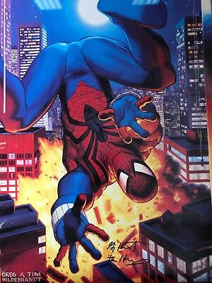 Spiderman Signed Poster