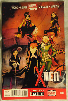 X-MEN (2013/Vol 3) #1 by Brian Wood and Olivier Coipel - MARVEL NOW!