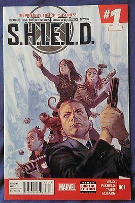 SHIELD (2014-2015) #1 by Mark Waid and Carlos Pacheco - MARVEL COMICS