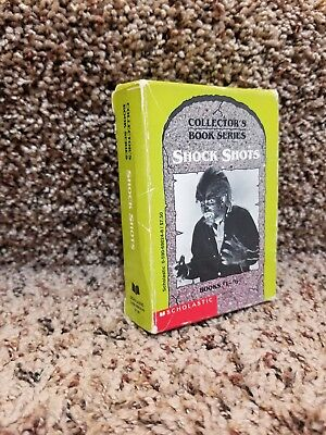 RARE!! Shock Shots Collectors Book Series  Monsters By Scholastic