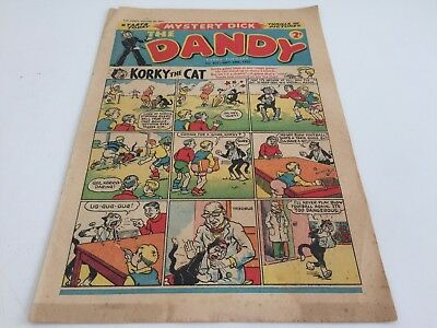 The Dandy No. 827 - September 28th 1957.