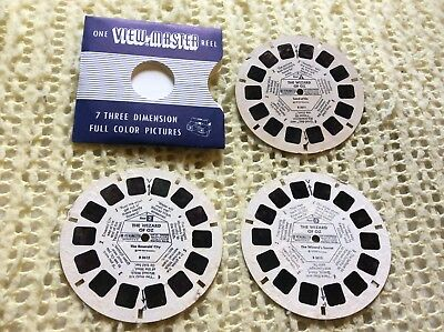 Viewmaster - The Wizard Of Oz - 3 x Reel Set