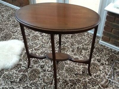Elegant Oval Occasional Table