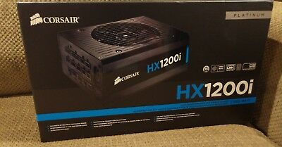 Corsair HX1200i Platinum 1200 watt ATX Modular 12v power supply
