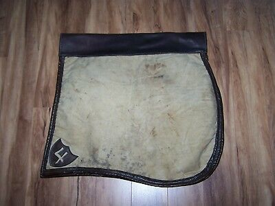 Officers 1904 Cavalry McClellan Canvas and Leather Saddle Pad, Shapraque