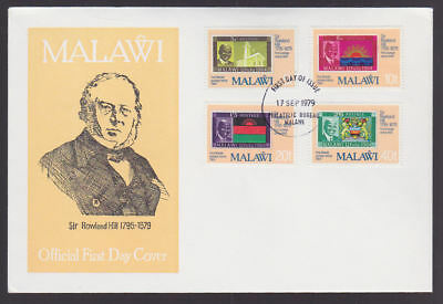 Malawi 1979 FDC official illustrated Cover Rowland Hill Stamp Centenary cancel