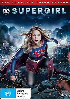 Supergirl: Season 3 - DVD Region 4 Free Shipping!