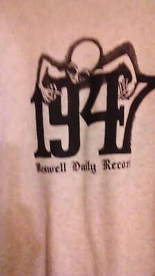 Roswell Daily Record Sweatshirt UFO crash Alien abduction Area 51 Paranormal