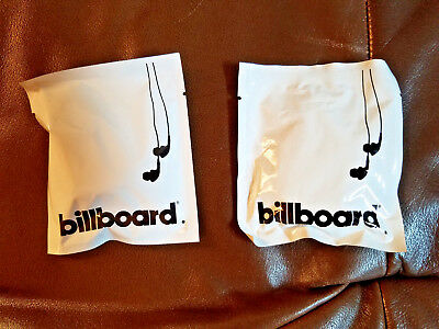 Great Brand New Delta Billboard Earbuds Set of 2 Sealed in Packages