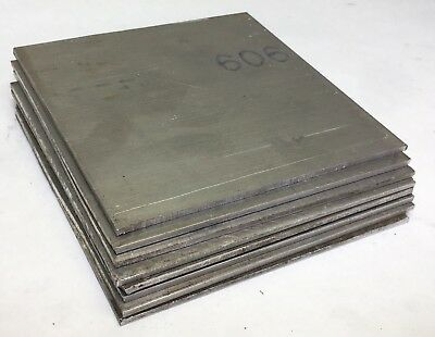 .100 X4-1/2 SQ ALUMINUM SHEET 6061 T6 FLAT BAR SOLID PLATE Mill Stock 8 Pcs(E38)