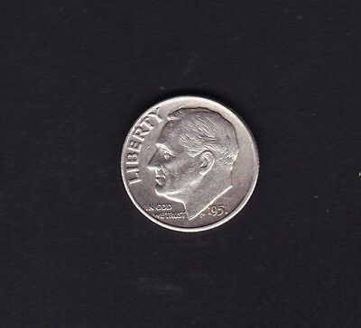 United States 1951 Dime Silver Coin