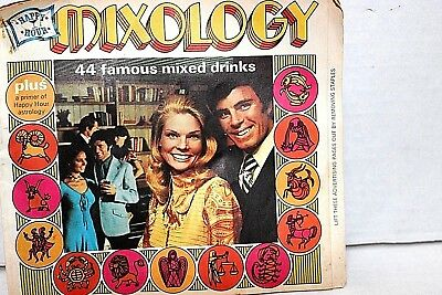 Mixology Booklet Advertisement Southern Comfort Astrology, Lucky #, Birth Gem, R