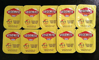 Vegemite  10 single serve portions - Australia's favourite snack