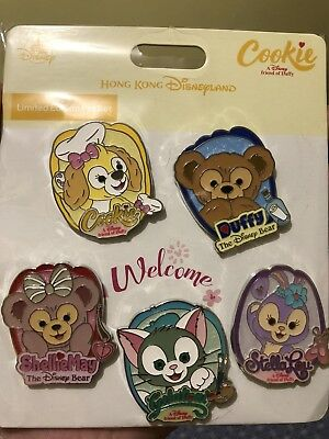 HKDL Hong Kong Disney Cookie Duffy and Friends Pin LE300