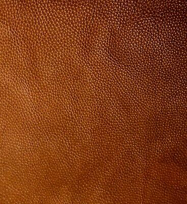 1.5mm Brown Full grain leather pieces soft aniline cowhide various sizes