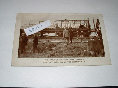 Carlisle Railway Disaster, Postcard 2