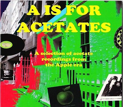 A is for Acetates CD - Acetate recordings from Apple era - Beatles label