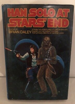 Han Solo At Stars' End A Novel By Brian Daley 1979 First Edition Book Club