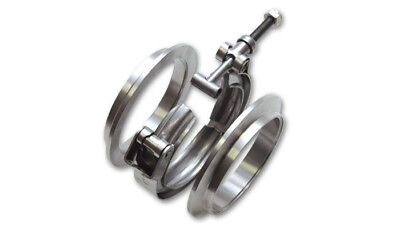 Vibrant Performance 11491 3 in OD Tubing Aluminum V-Band Clamp Assembly