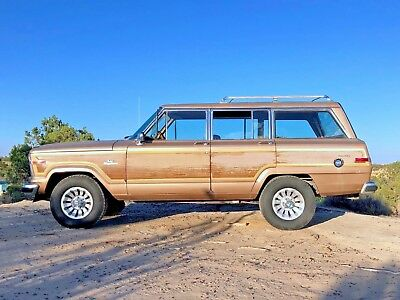 1984 Jeep Wagoneer  1984 Jeep Grand Wagoneer - New Mexico rust free vehicle!     *VIDEO test drive*