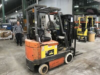 "Toyota 5Fbc15 Electric Forklift Truck 36V 2900 Lbs. Cap. 169""h"