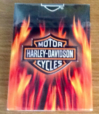 New Harley-Davidson playing cards - still in cello packaging