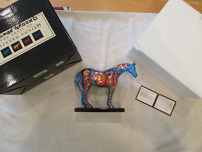 """Trail Of Painted Ponies """"on Common Ground"""" 2E/8997 New In Box With Tag"""