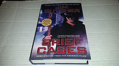 Dresden Files: Brief Cases by Jim Butcher (2018, Hardcover) SIGNED 1st/1st