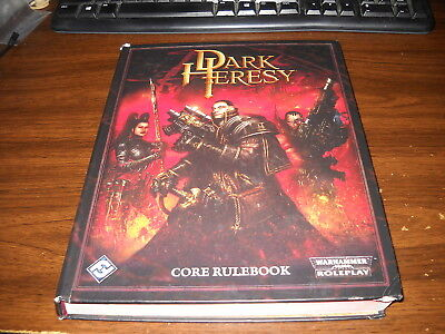 Warhammer 40k: Dark Heresy RPG: Hardcover Core Rulebook