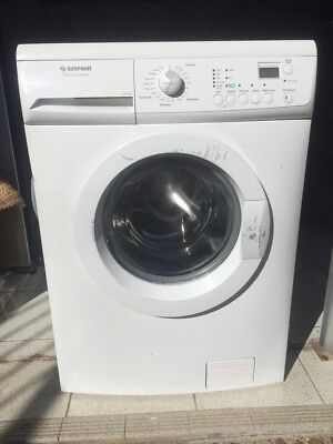 Simpson SWF12843 8kg Front Load Washing Machine