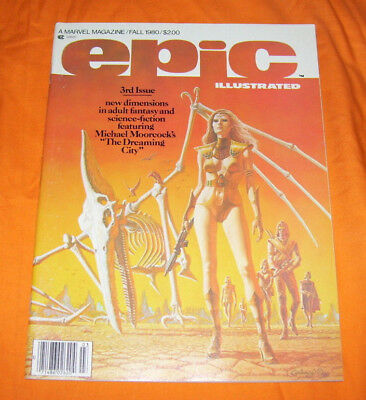 Epic Illustrated #3 Vf 8.0