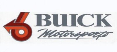 Buick Grand National Buick Motorsports Decals Set Of 2