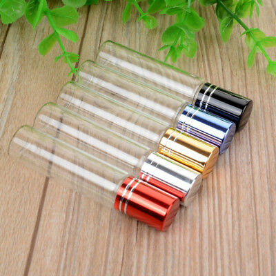 10ML Clear Roller Refillable Essential Oil Roll-on Glass Perfume Bottle Delicate