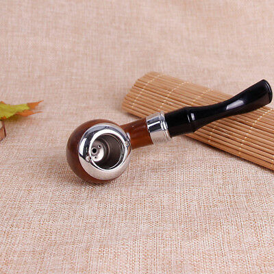New Filtering Solid Wood Wooden Smoking Pipe Tobacco Cigarettes Cigar Pipes Gift