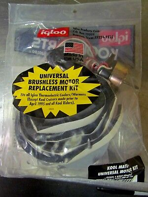 Igloo Replacement Brushless Motor for Kool Mate Cooler made AFTER 1//1//94 36//32