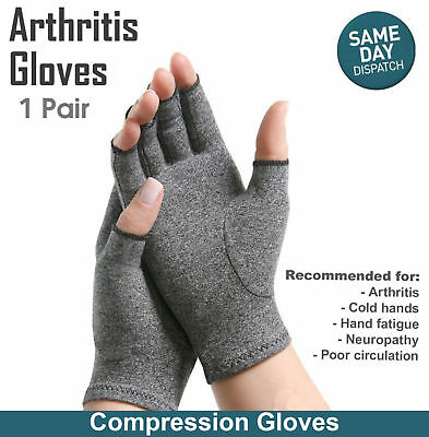 Gloves Compression Joint Finger Pain Relief Hand Wrist Support Brace