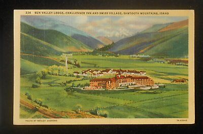 1940 Sun Valley Lodge Challenger Inn and Swiss Village Sun Valley ID Blaine Co