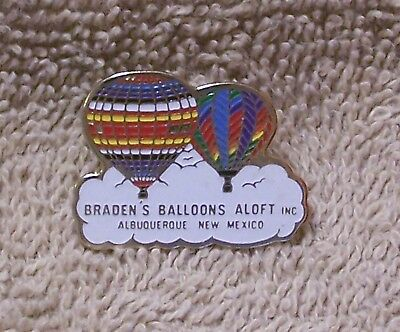 Braden's Balloons Aloft Inc. Albuquerque New Mexico Balloon Pin