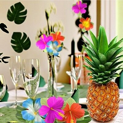 60 pieces moana themed party tropical luau hawaiian table
