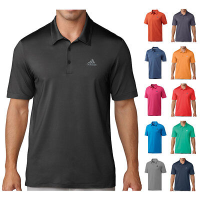 adidas Golf Mens 2018 Ultimate 365 Solid Moisture Wicking Polo Shirt Top